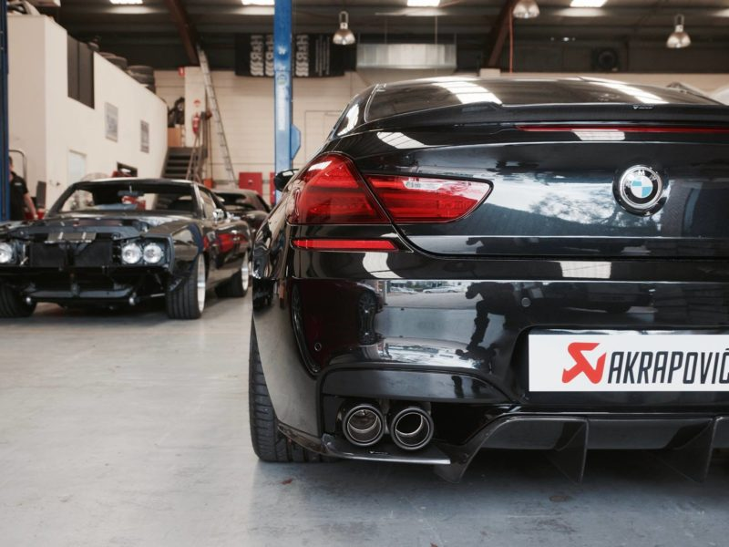 MODIFIED: Akrapovic BMW M6